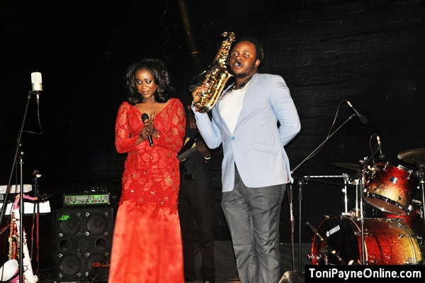 Toni Payne and Yemi Sax