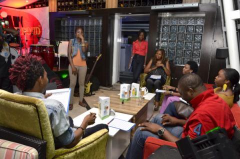LPGolden BreakThrough Auditions Judging panelists Ngozi Omambala, Weird MC, Bobby Taylor, Osahon Asemota (MTV BASE) & Jesse Jagz g