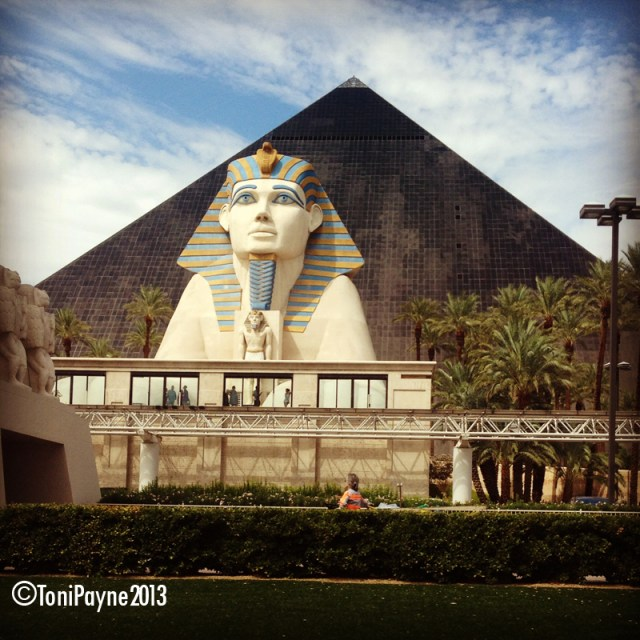 """The """"Sphinx and the Pyramid"""" Photography by Toni Payne"""