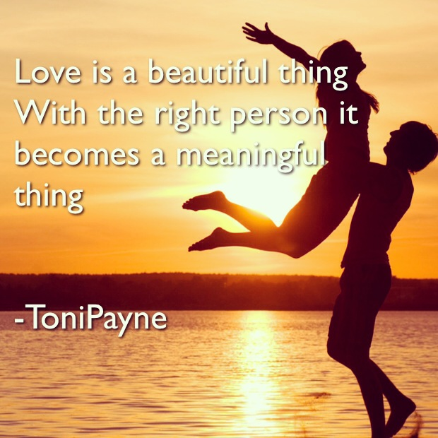 Toni Payne Quotes about Love 2