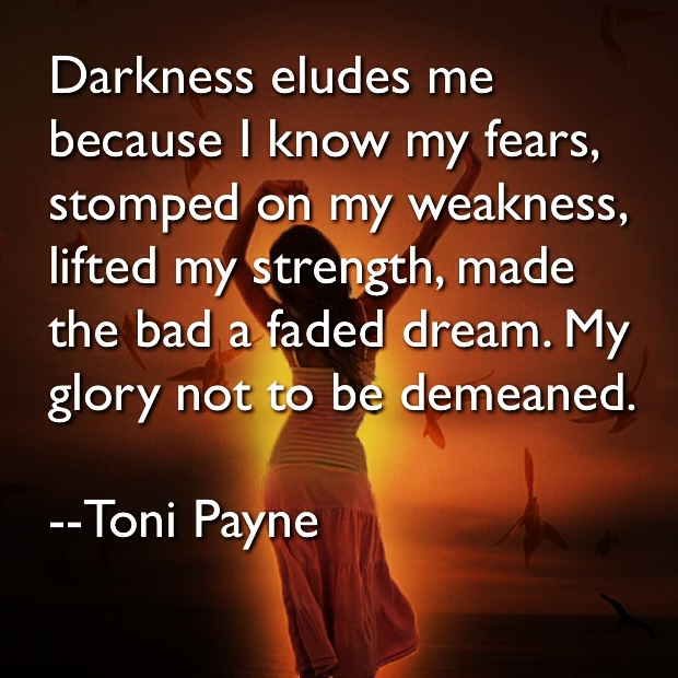 Toni Payne Quotes about Strenght 1