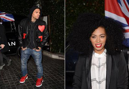 chris brown solange