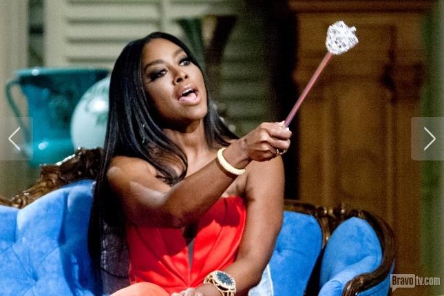 """Kenya Moore tells Nene """"Stop Wearing Hair from Toys 'R' Us"""" [Watch Video]"""