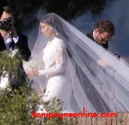 kim kanye wedding dresss