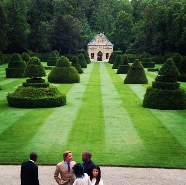 kimye wedding venue out