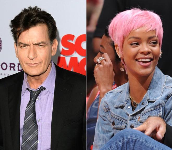 Rihanna Versus Charlie Sheen; the Twitter Fight Chronicles