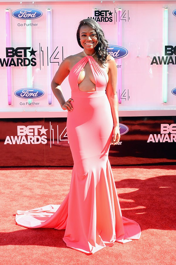 1 2014 bet red carpet tatyana ali
