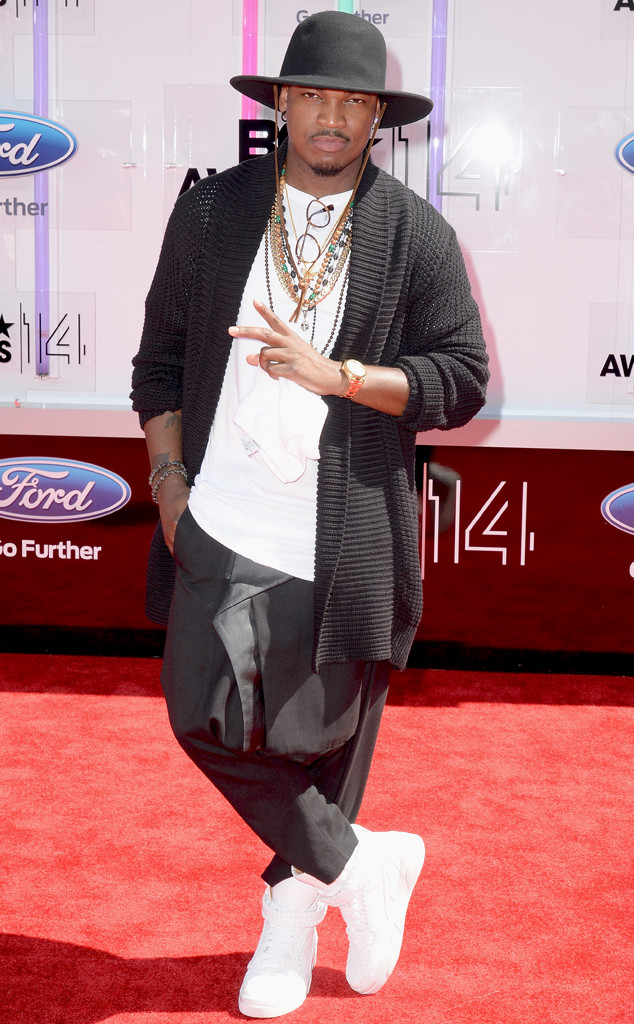 2014 bet red carpet neyo