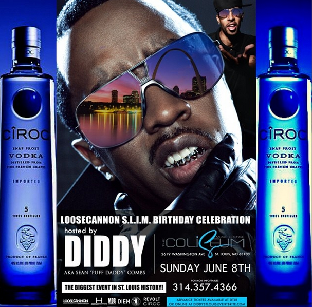 event- diddy - stloius - june 8