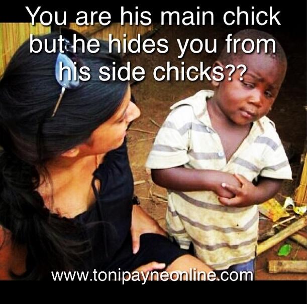 Hilarious Funny Mainchick vs Sidechick Meme - Toni Payne ...
