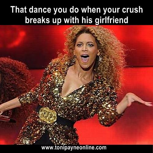 when your crush breaks up meme
