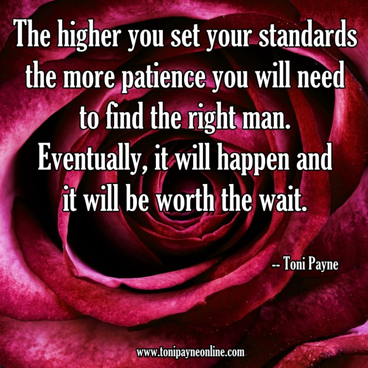 Quote about Having Patience when finding a significant other