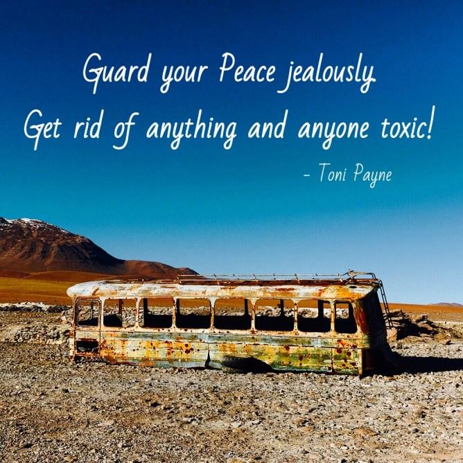 guard your peace jealously