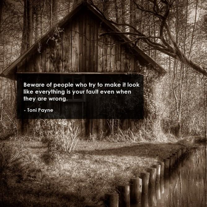 beware picture quote