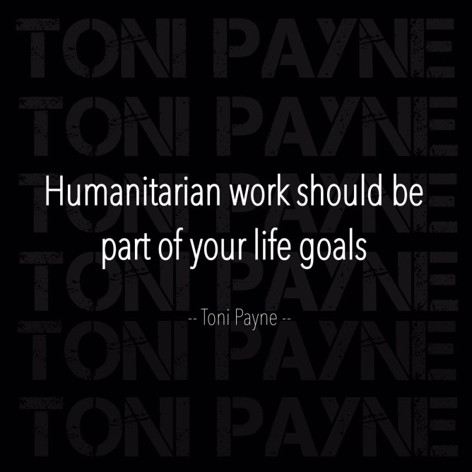 humanitarian work quote