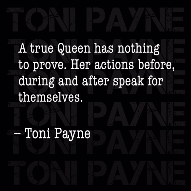 Toni Payne Quote about staying true to self