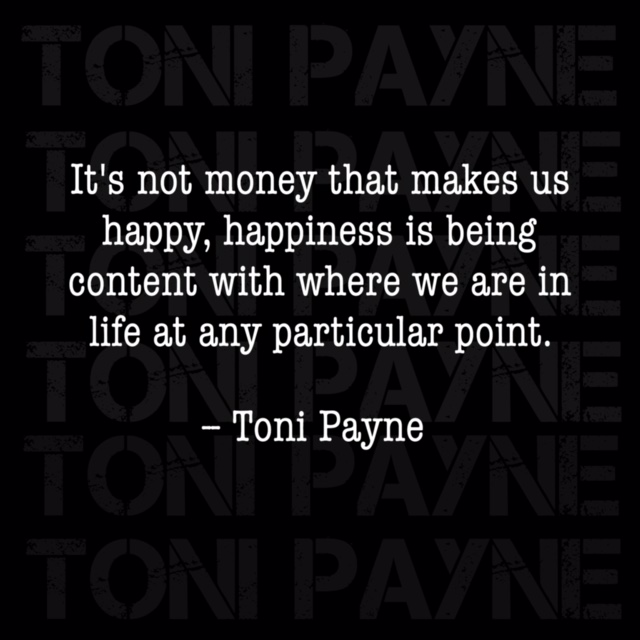 quote about money and finding happiness