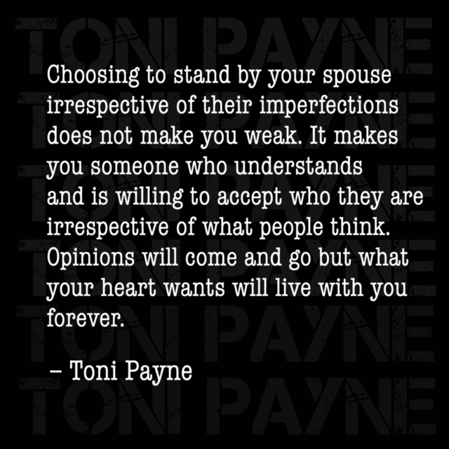 toni payne marriage quotes