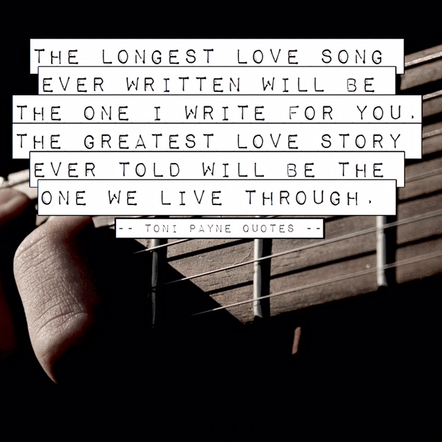 Greatest Love Quotes Amazing Romantic Love Quote  The Longest Love Story Ever Told