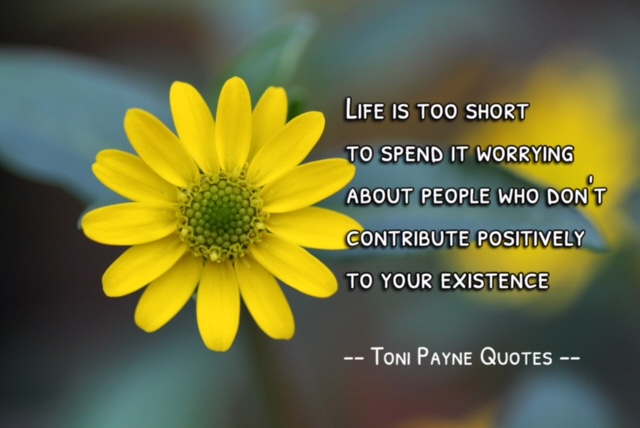 Quote About Dealing With Negative People   Toni Payne
