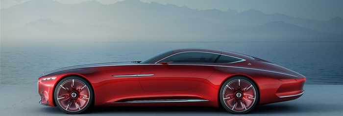 Vision Mercedes-Maybach 6 3
