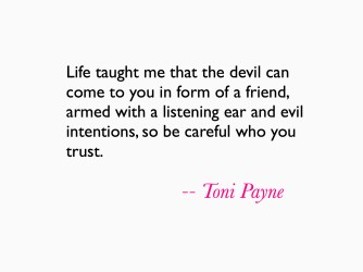 Friendship Quotes – Quote about friends you cant trust