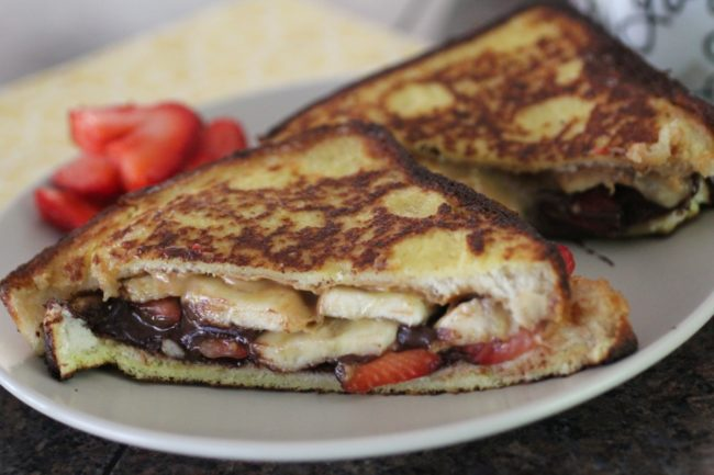 Banana Split French Toast by The Organized Cook