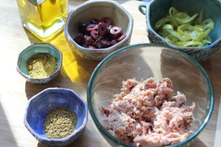 Mediterranean Tuna Panini Recipe Ingredients