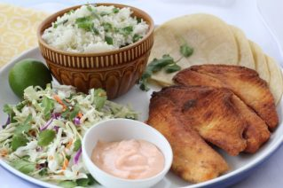 Baja Fish Tacos Recipe by The Organized Cook