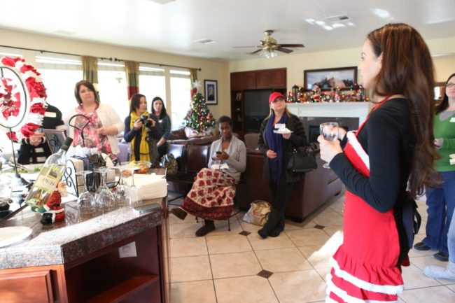 Fresh and Easy Holiday Entertaining Blogger Event hosted by Toni Spilsbury