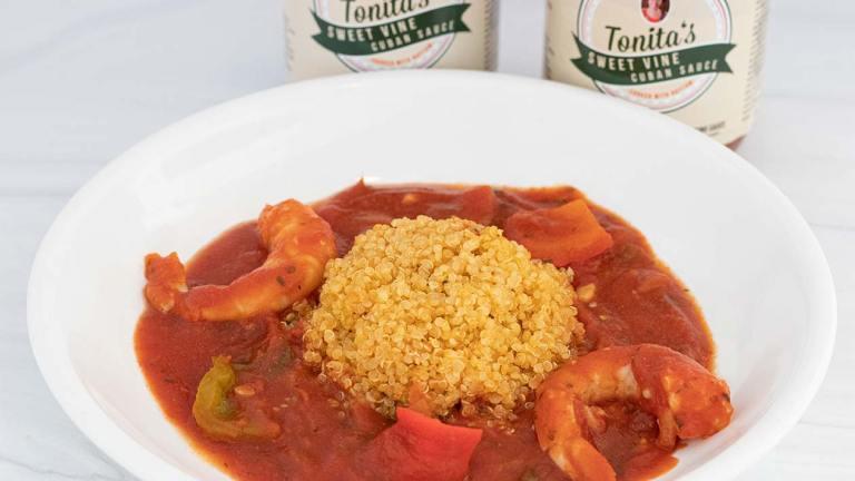 Sofrito Shrimp and Quinoa