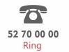 Ring telefon 52 70 00 00