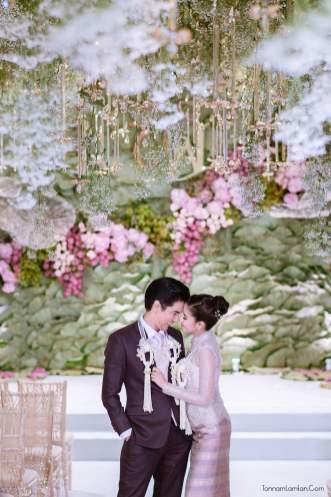 ใบเตย แต่งงาน Siam Kempinski Hotel