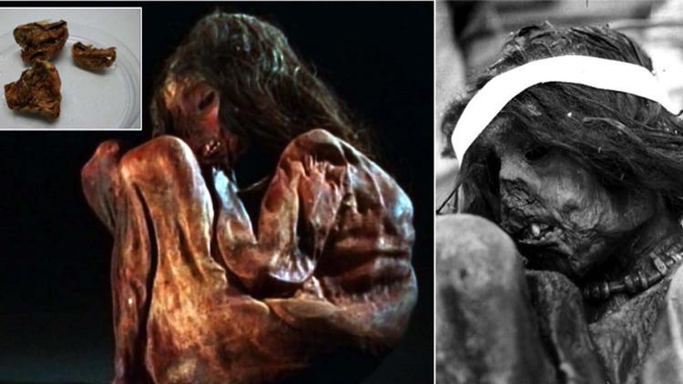 mumia inca dna - To no Cosmos