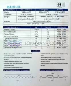 Catalog - Trang 2 - QueenLite - Tấm Polycarbonate Lấy Sáng