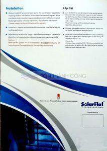 Catalog Trang 4 - SOLARFLAT, Tấm Polycarbonate Đặc Ruột Indonesia