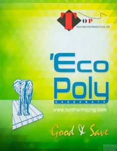 Catalog Trang 1 – ECOPOLY, Tấm Polycarbonate Rỗng Ruột Thái Lan