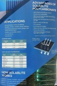 Catalog Trang 2 – SOLARLITE, Tấm Polycarbonate Rỗng Ruột Indonesia