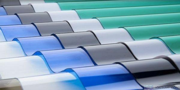 Mua bán tôn polycarbonate - tấm lợp lấy sáng TP.HCM