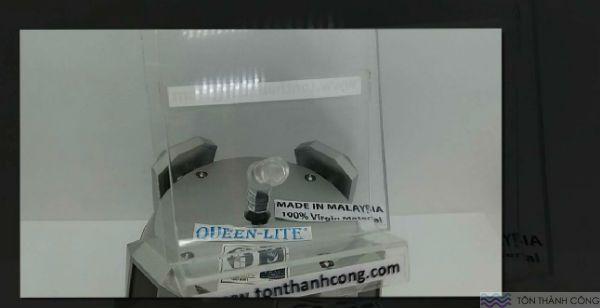 Queen-Lite Clear (Trong Kính, Không Màu) Malaysia - Tấm Polycarbonate Đặc Ruột Dày 3mm HCM