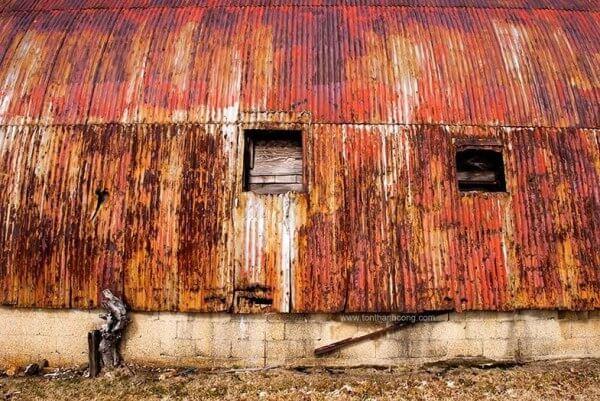 Nhà xưởng sản xuất thực phẩm đóng gói, Vách Ngăn bị Rỉ Sét trầm trọng