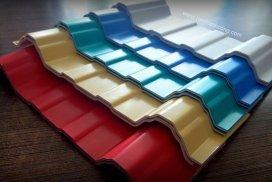 6 Sóng Vuông, Tôn Nhựa PVC ACU - Chống Ăn Mòn & Lão Hóa