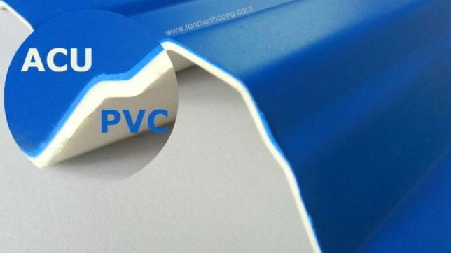 Lớp Phủ ACU, Tôn Nhựa PVC ACU