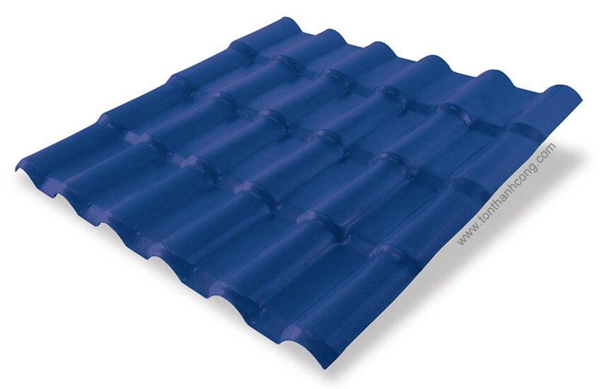 Ngói Nhựa PVC ASA Xanh Dương Blue