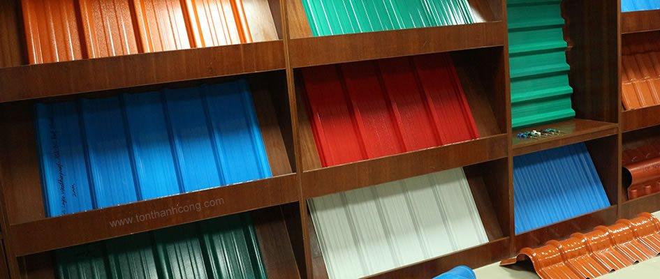 Tôn Nhựa Tổng Hợp ASA/PVC - Sóng Vuông, Sóng Ngói, Giả Ngói