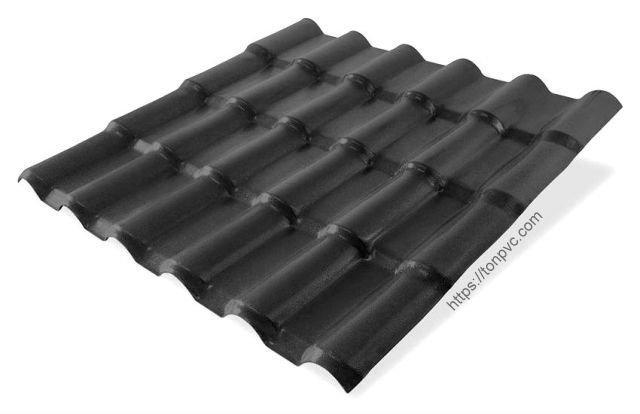 Ngói Nhựa Everroof ASA/PVC màu Xám Đen