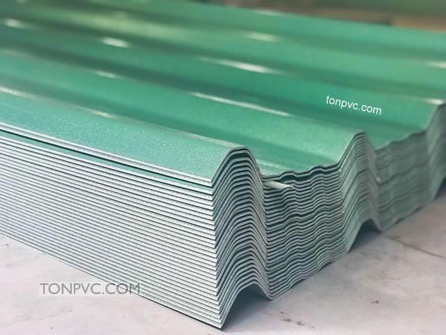 Tôn Nhựa 4 Lớp ASA/PVC màu Xanh Ngọc