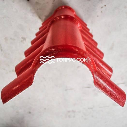 Tấm Úp Nóc Ngói Nhựa Màu Đỏ