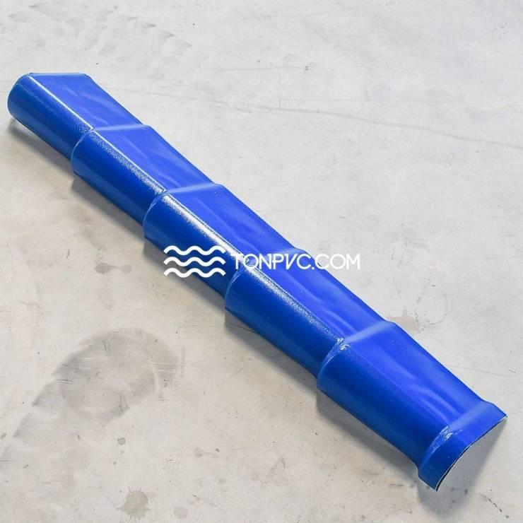 Tấm Viền Phải Ngói Nhựa Màu Xanh Dương