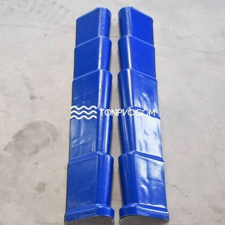 Tấm Viền Mái Ngói Nhựa Màu Xanh Dương